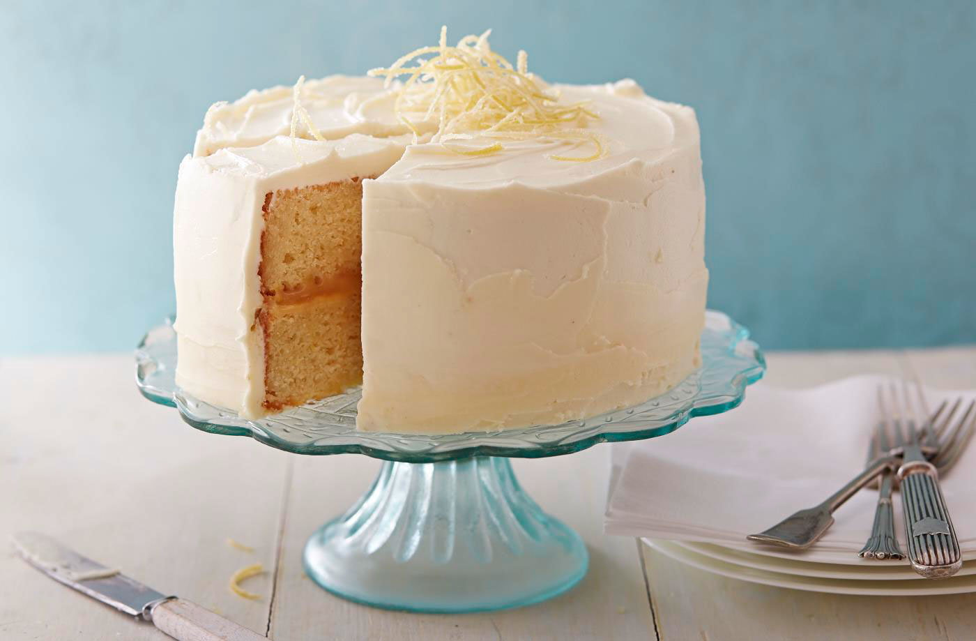 Lemon Celebration Cake Recipe