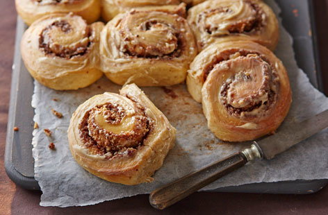 These cinnamon rolls will leave your house smelling absolutely divine