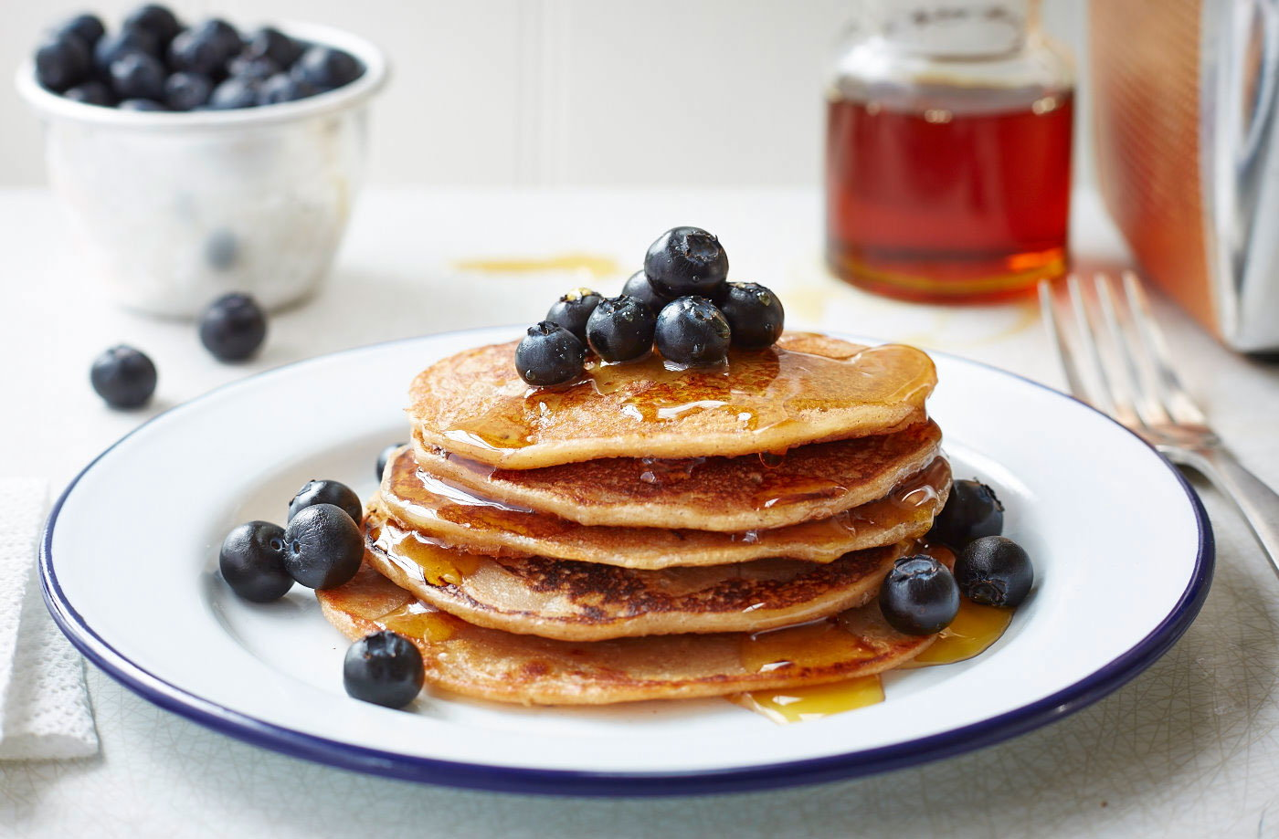 Vegan Banana Pancakes Recipe Tesco Real Food