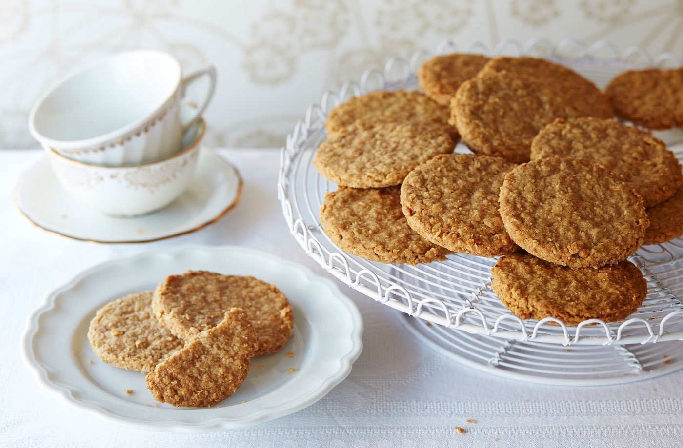 Gluten Free Oat Biscuits Recipe