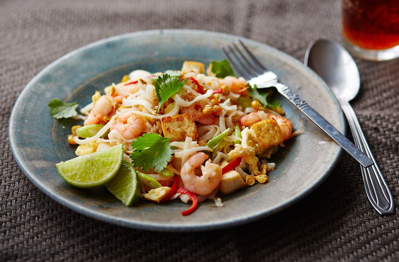 Prawn Pad Thai Salad Tesco Real Food