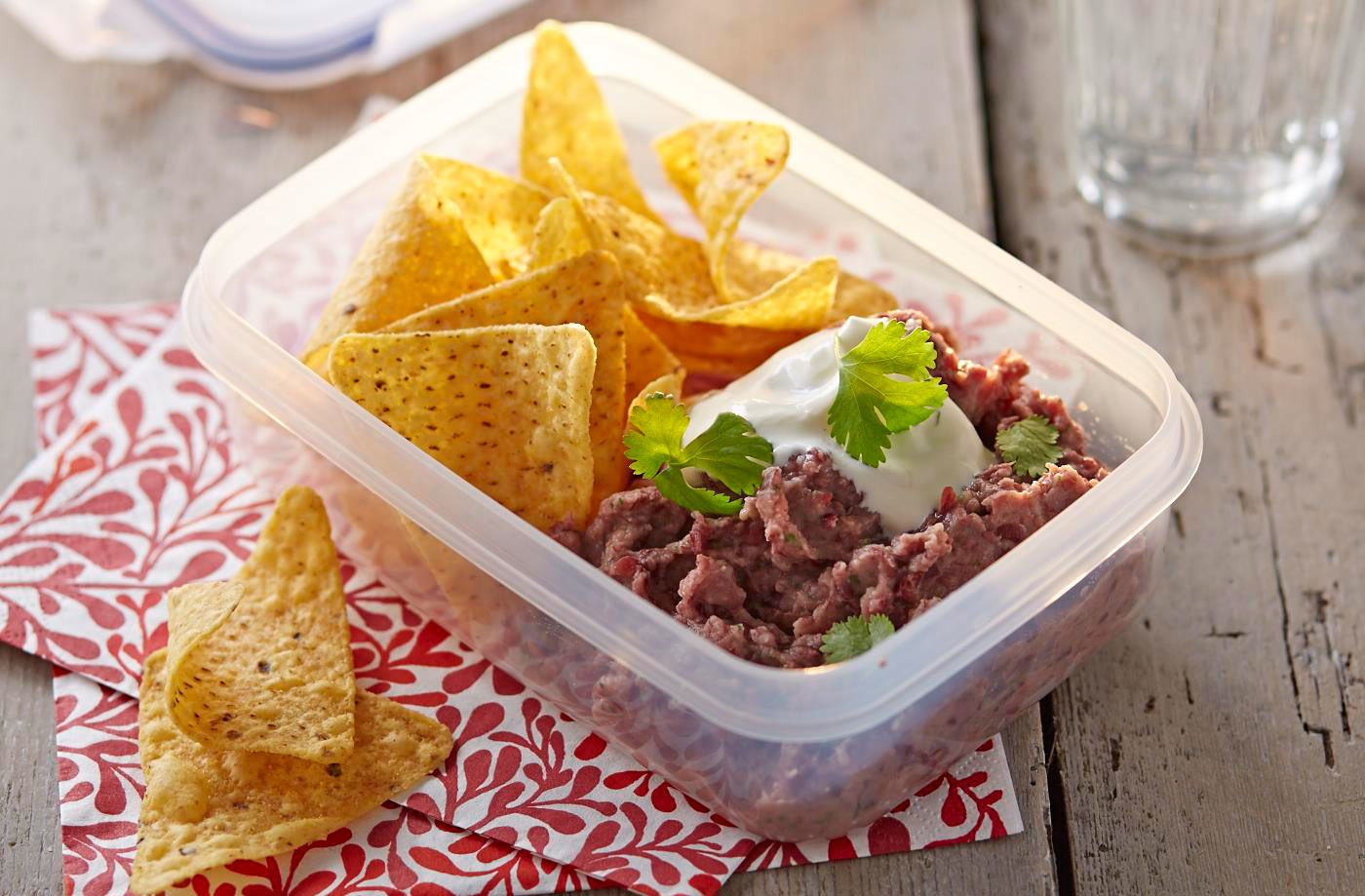 Spiced Mexican bean dip recipe