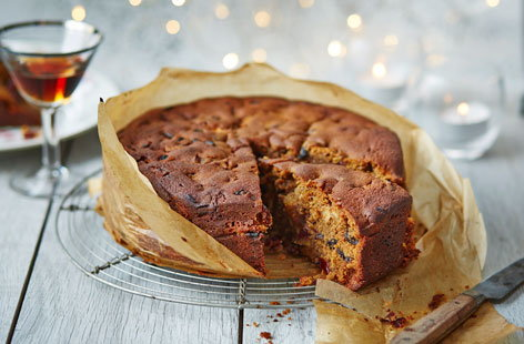 Celebrate the festive season in style with a nut-free Christmas cake