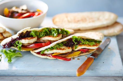 303 vegetarian pitta pockets (H)