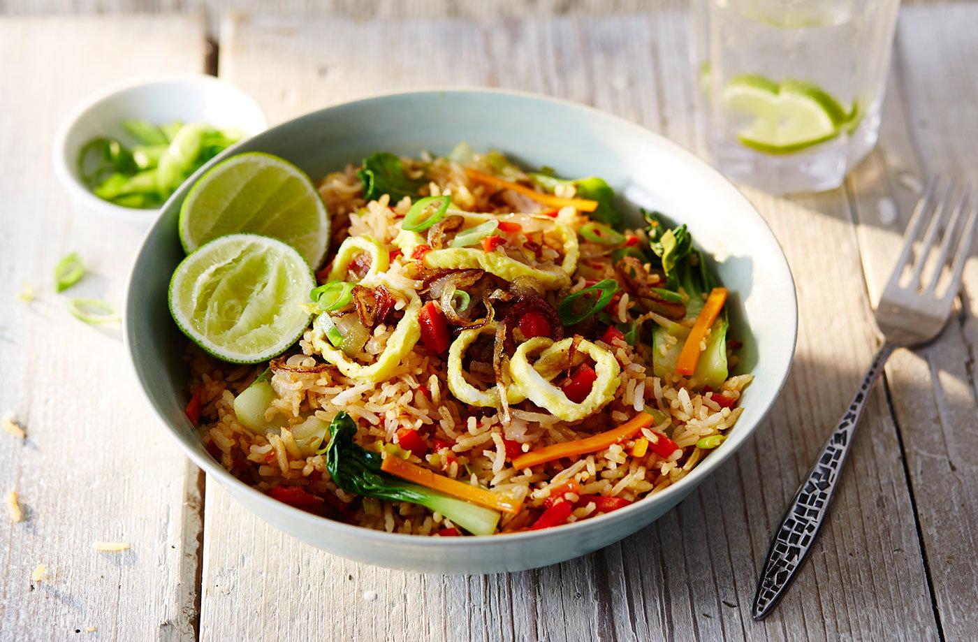 Vegetable Nasi Goreng Tesco Real Food