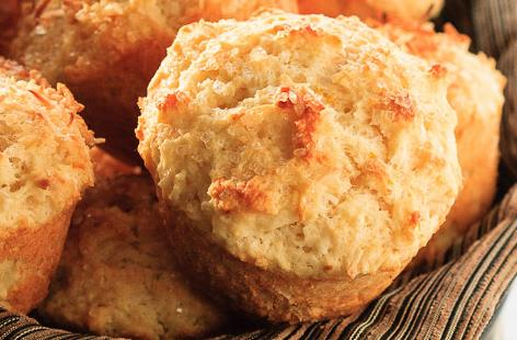 Coconut cranberry muffins