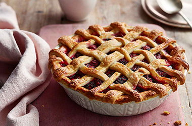 Easy berry pie