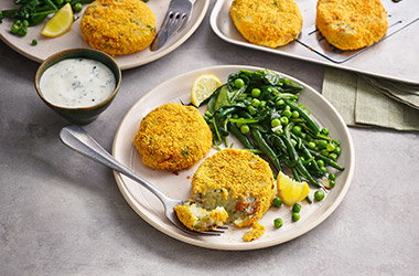 Kipper fishcakes
