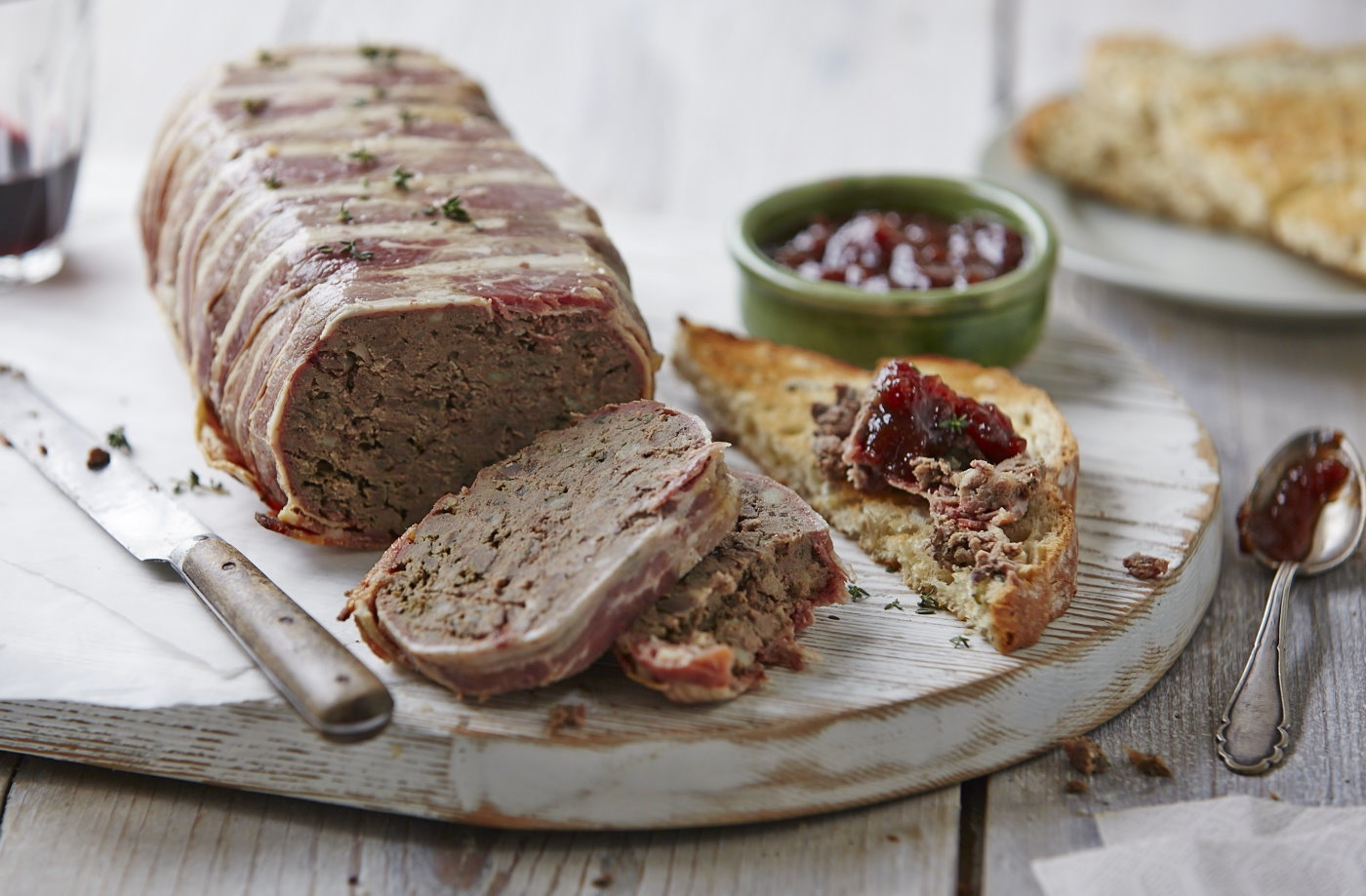 Rustic liver pâté | Tesco Real Food