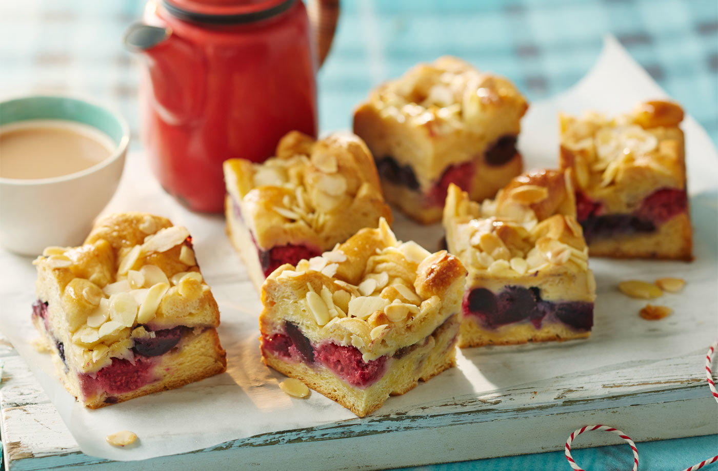 Picnic Basket Breakfast Ideas : Summer berry bake baking tesco real food