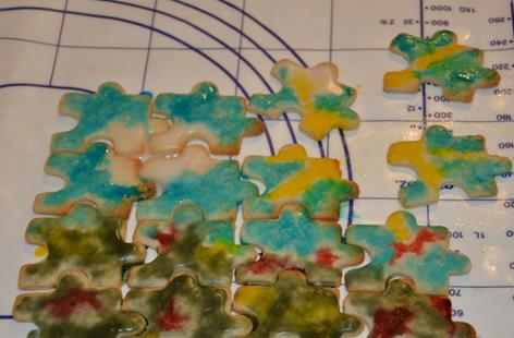 Cookies - Edible Jigsaw