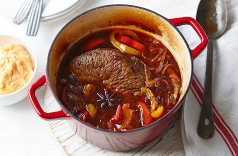 This all-star spicy pot roast is the ultimate winter warmer and it couldn't be easier to make