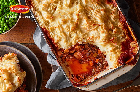 With creamy mashed potato, hearty veg and beef, a classic cottage pie recipe makes the perfect family dinner.