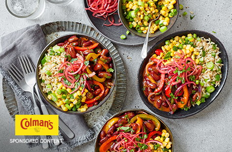 Feed the whole family with this chilli burrito bowl recipe. It's quick and easy to make.