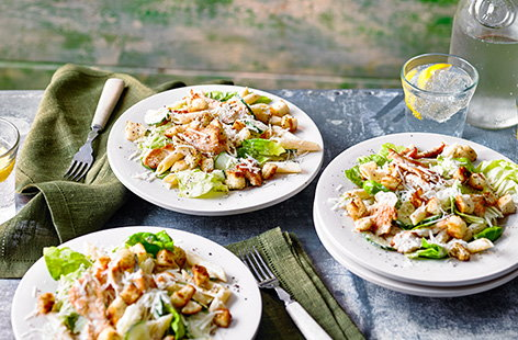 Turn a classic salad into a quick dinner or weekend lunch with this Caesar pasta salad recipe.
