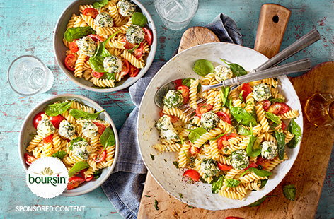 For an easy vegetarian dinner idea check out our collection of colourful vegetarian pasta recipes.
