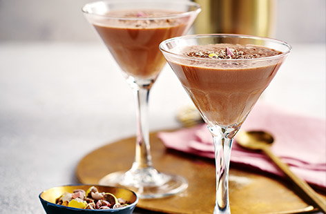 Crave chocolate but fancy something a bit more grown-up? Look no further than this recipe for a decadent (and adult) chocolate martini.