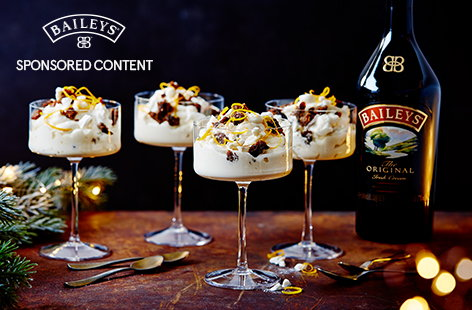 Put a Christmas spin on a classic dessert with this Festive Eton mess recipe. Mix smooth Baileys through whipped cream and stir in crumbled Christmas pudding and crushed meringue for an easy Christmas dessert idea.