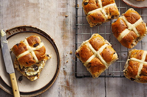Ways to use leftover hot cross buns