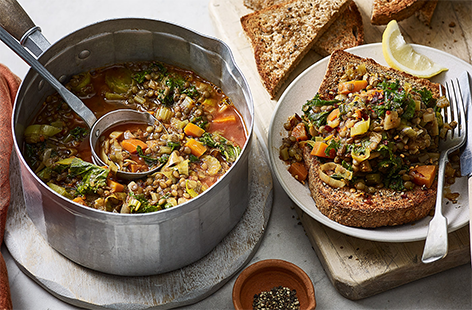 Tender lentils are a great way to make your meals extra hearty – check out our collection of lentil recipes for comforting dinners and soups.