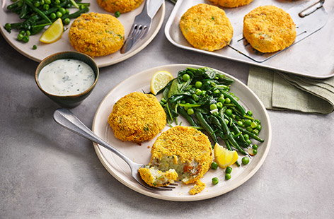 Smoked kippers add an extra depth of flavour to this quick and simple fishcake recipe