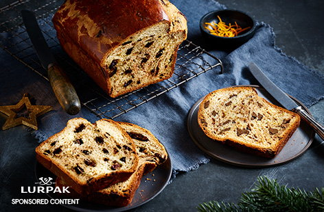 Treat the family to an indulgent Christmas brunch with this buttery chocolate orange brioche recipe. This is the perfect way to spend an afternoon baking, resulting in a buttery orange loaf studded with melting dark chocolate.