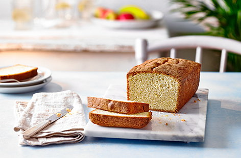 This easy Madeira cake recipe is a traditional basic bake, all made in one bowl and just lightly flavoured with lemon and ground almonds. Slice for a simple afternoon treat, serve with créme fraîche and berries for an elegant dessert or use in a trifle.