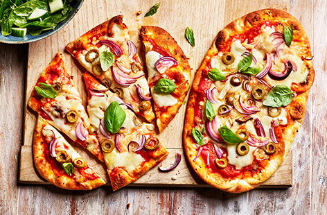 All you need to transform a shop-bought naan into a personal pizza is a few simple ingredients and a bit of kitchen know-how.