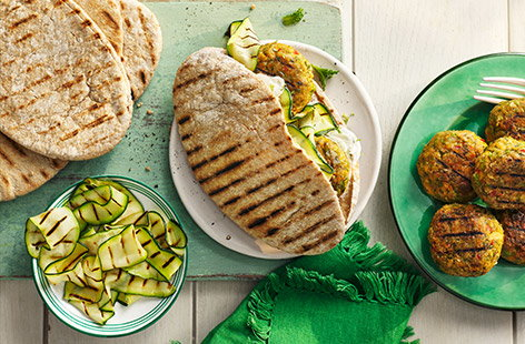 Learn how to make homemade falafel with our easy Middle Eastern falafel recipes.