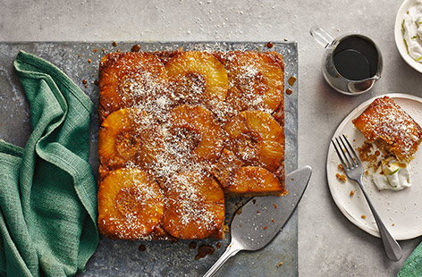Check out our pineapple recipes for new ways to add a tropical twist to bakes, desserts, dinners and more.