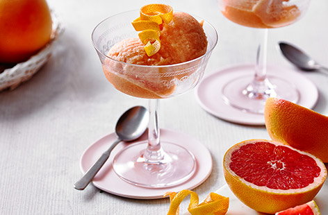 This deliciously cool and sweet dessert works perfectly as a palate cleanser or a dessert to finish off the night