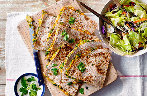 Whether meaty or vegetarian, check out our great collection of Mexican quesadilla recipes.