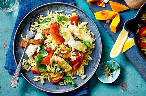 Velvety orzo is great for pasta bakes and risottos – check out our easy orzo recipes for tasty dinner ideas.