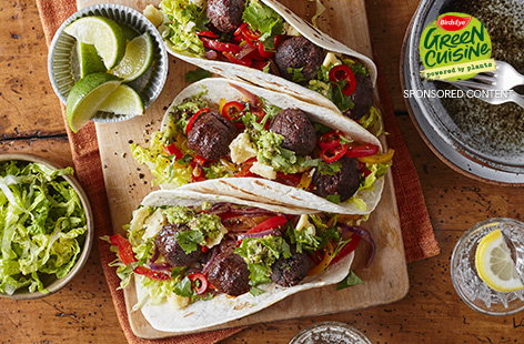The whole family will enjoy these DIY tacos for tea, piled high with fillings everyone loves