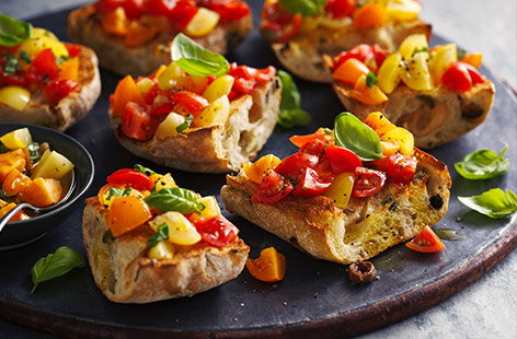 From classic Italian antipasti to new flavour twists, check out our collection of bruschetta recipes.