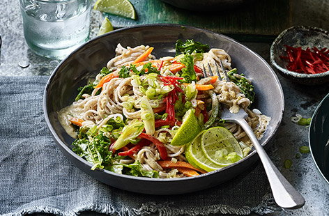 There's so many great noodle recipes to try – whether with meat, fish or loaded with veg.