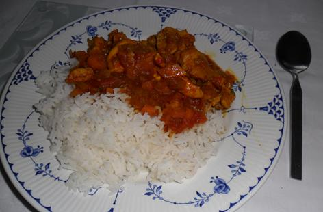 African Spicy Chicken