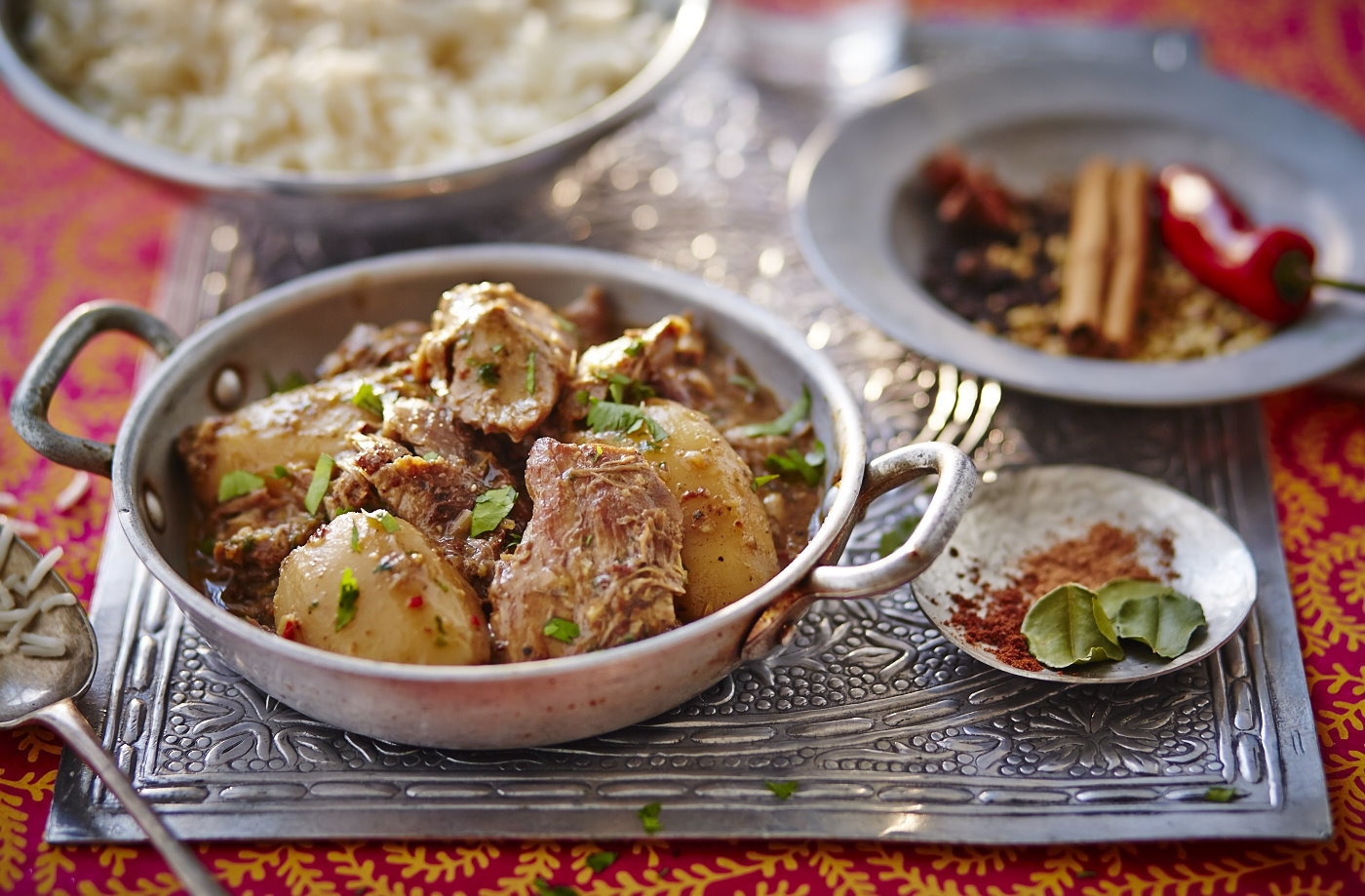 Slow-cooker duck and potato massaman curry
