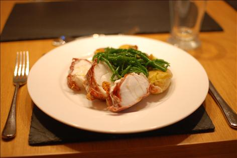 Roasted monkfish tail tesco real food for Monkfish and parma ham recipe