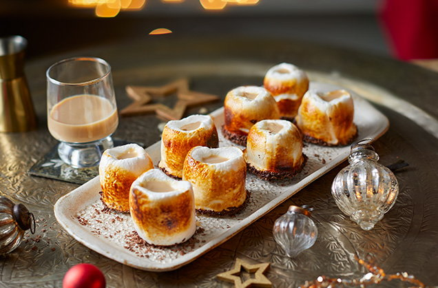 Irish cream marshmallow shots