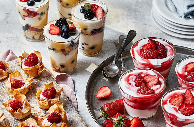 3 healthy berry treats for summer