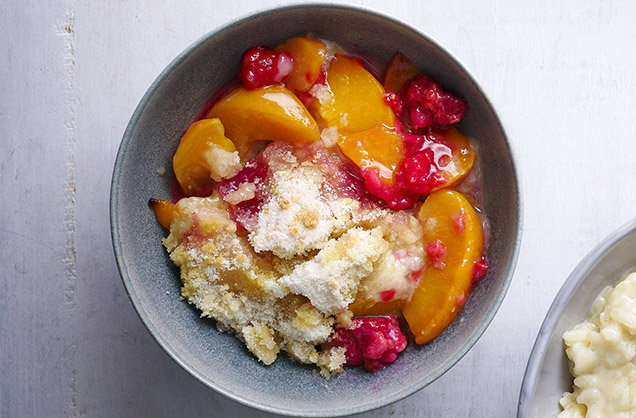 Any-fruit crumble