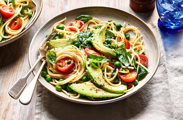 Thursday: Creamy avocado pasta