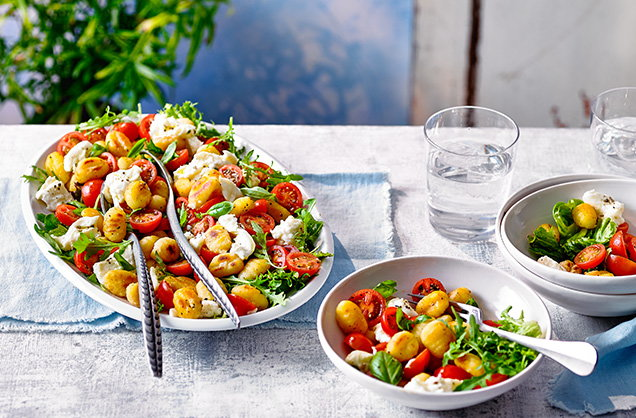 Thursday: Caprese gnocchi salad