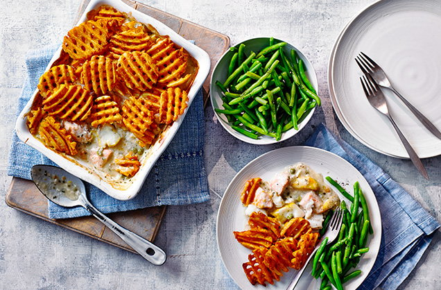 Tuesday: Cheat's fish pie