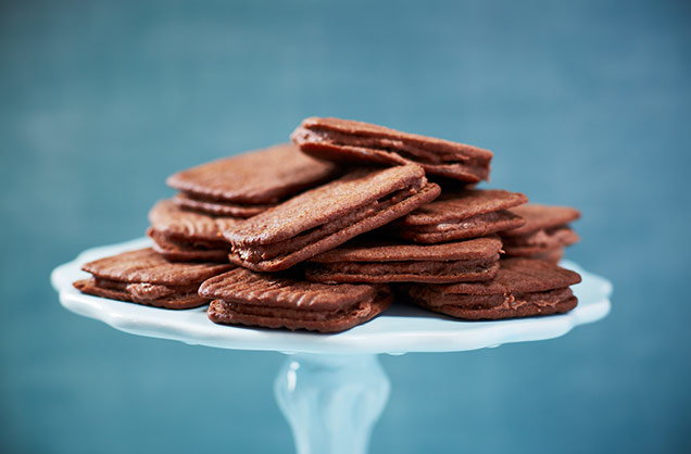 Chocolate bourbons