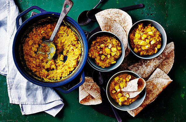 Thursday: Parsnip dhal