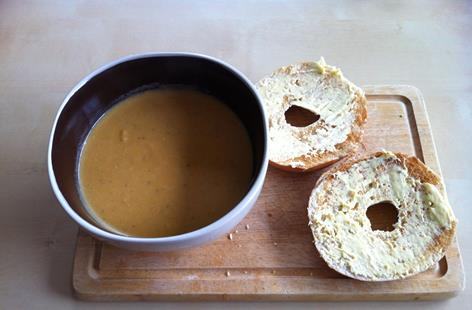 Warming Sweet Potato Soup