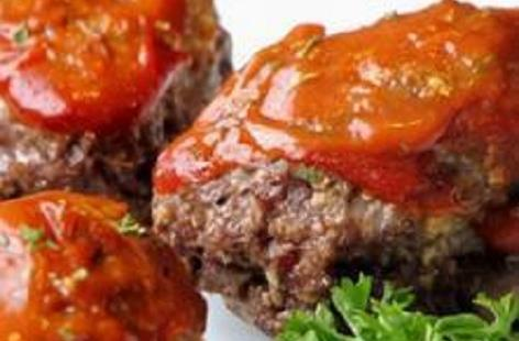 Miniature meatloaves