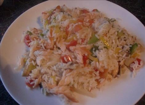 Susie's Salmon & Rice